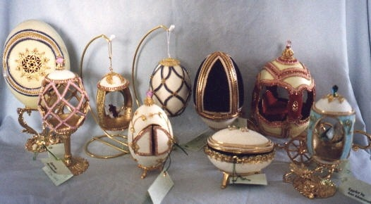 Ann's Egg Art group picture